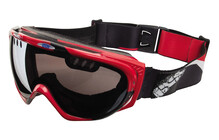 ixs Combat Pathfinder Goggles rood-zwart